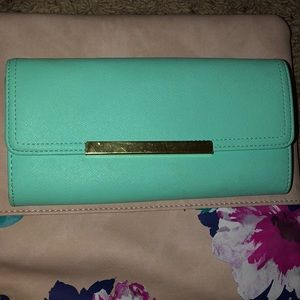 Accessories - Mint blue wallet